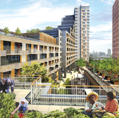 unreleased masterplans show sustainable roots for low income housing
