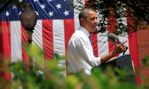 climate change president talk