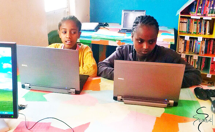 Studio Samuel Foundation Uses Grant Computers to Teach Ethiopian Girls to Code