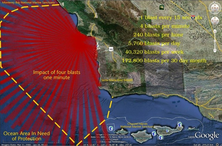 Map by Karl Kempton (c/o facebook: Stop the Diablo Canyon Seismic Testing)