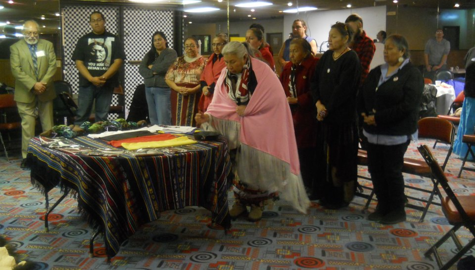 International treaty to protect the Sacred from Tar Sands signing ceremony