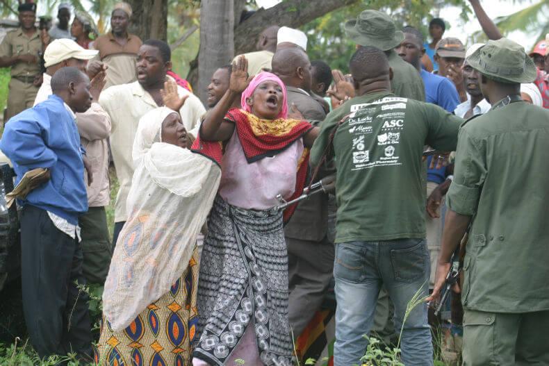 eviction attempt, Uvinje village, north of Dar es Salaam, in Tanzania