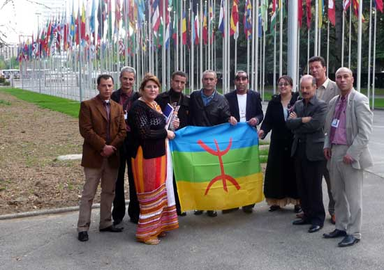CMA delegation at the United Nations Office in Geneva, 2009. Photo makabylie.info