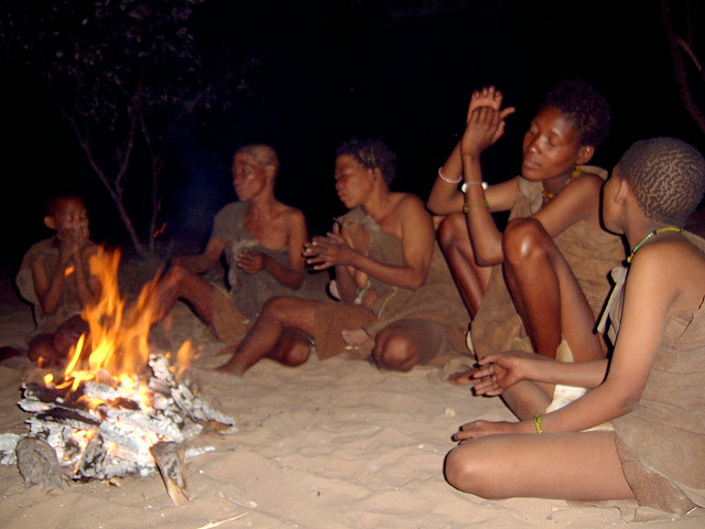 First People of the Kalahari still singing and dancing - Ghanzi, Botswana. By Petr Kosina, on Flickr