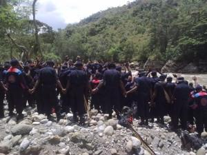 Papua members of Petapa join hands
