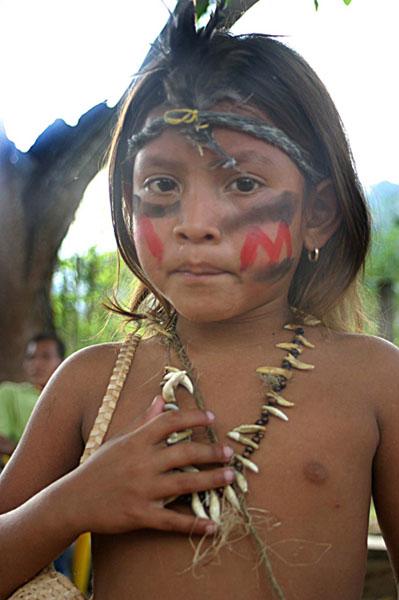Global action network proposed for indigenous rights p12avenezuelaindigenouschildv01