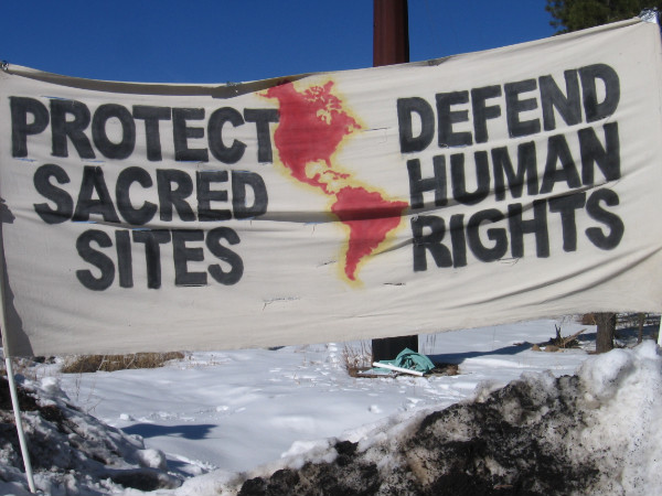 protect sacred sites