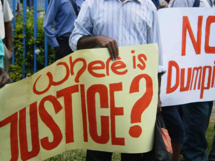 where is justice Papua New Guinea