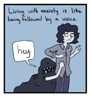 anxiety demon