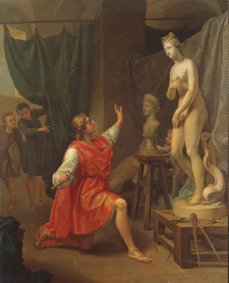 Pygmalion and Galatea. Pecheux. 1784