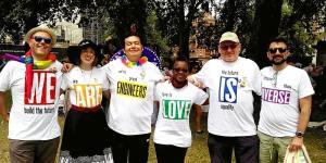 InterEngineering Pride March