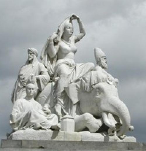 Monumental skulptur Vad. Monumentalskulptur 05.