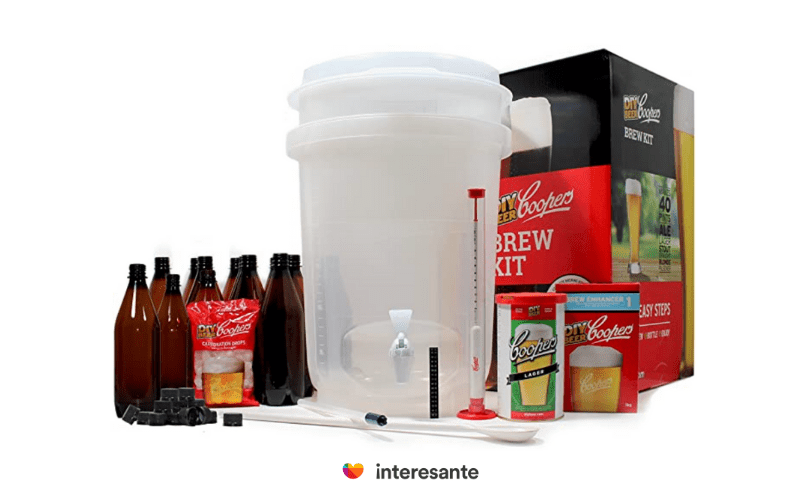 Kit para hacer cerveza artesanal