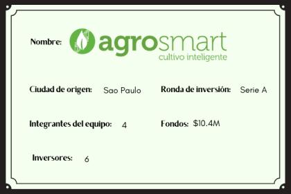 Agrosmart , startup mujeres