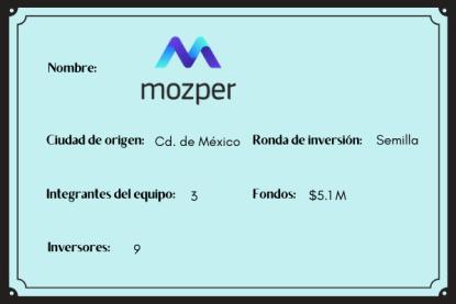 Mozper , mujeres startup