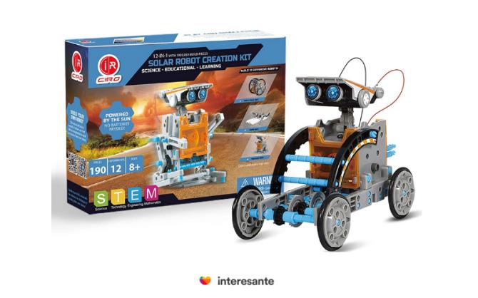 Ciro, Robot Solar. Regalos para niños