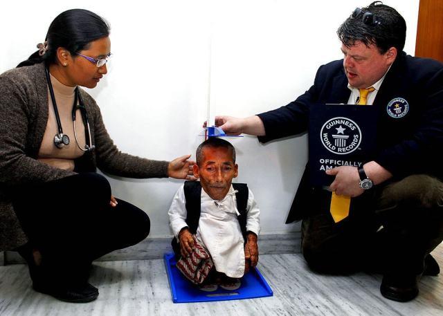 Чандра Бахадур Данги - самый маленький человек в мире