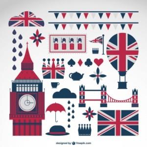 Иконки Англия, Лондон в векторе   Векторные рисунки ...