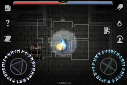 魔法を駆使して戦うアクションゲーム『SOLOMON'S KEEP』。