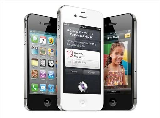iPhone 4S。