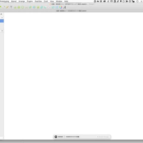 作業していたsketchファイルが真っ白