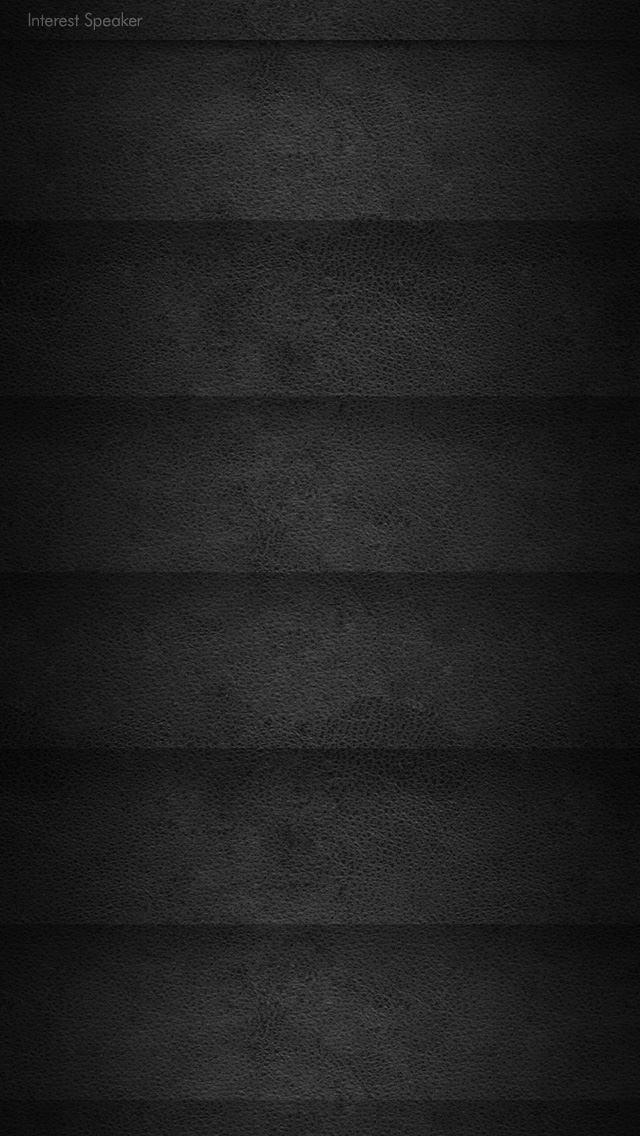 leather01-black iPhone 5 ホーム画面用壁紙