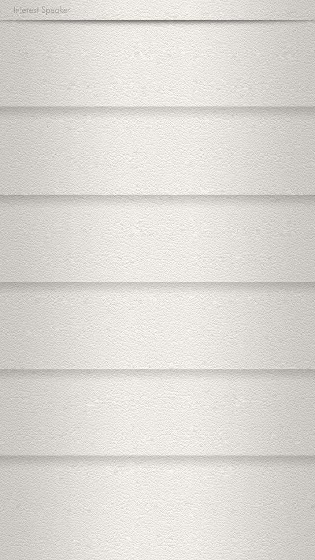 leather01-white iPhone 5 ホーム画面用壁紙