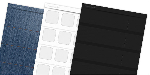 シンプル&クールなiPhone5用壁紙