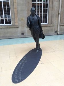 Philip Larkin statue