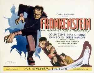 Frankenstein 1931 poster