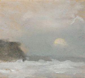 Moonrise Beaumaris