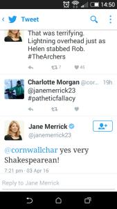Yorkshire Tragedy Twitter