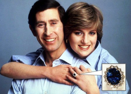 Princess Diana's Ring Sri Lankan Sapphire