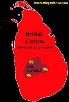 British Rule in Sri Lanka Kandyan Convention