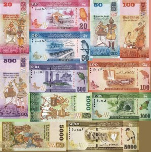 Sri Lanka Currency Notes