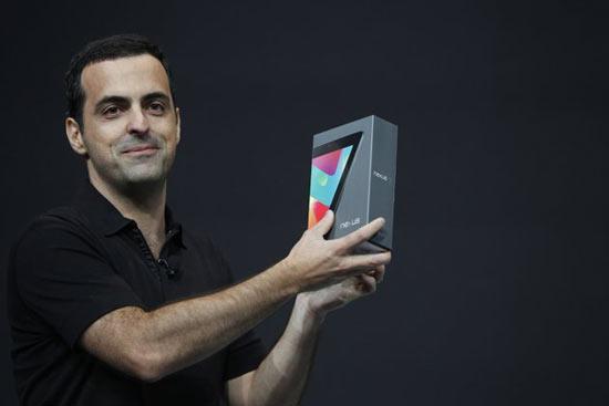 Google Nexus 7 Tablet at Google I/O 2012