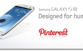Win One of Five Samsung Galaxy S III in Samsung Pinterest competition