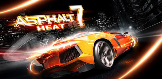 Asphalt 7: Heat for Android Available For Download