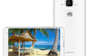 Micromax Canvas XL2 A109 listed on Micromax official website