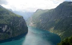 Fjord of Art wallpaper