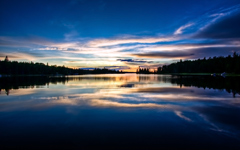 High-resolution desktop wallpaper Private Dock: Sunset by TheReal7