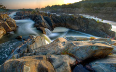 High-resolution desktop wallpaper Great Falls by SinaiB