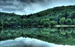High-resolution desktop wallpaper Upper Lake by jaypee68