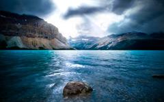 High-resolution desktop wallpaper The Opal Lake by Macindows