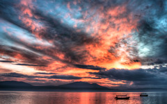 High-resolution desktop wallpaper Lake Chapala, Jalisco, Mexico by alx2056