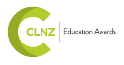 CLNZ education awards logo