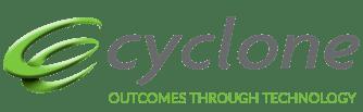 Cyclone Logo - Outcomes Through Technology - no bg