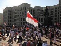Более 10 человек задержаны на акциях протеста в Беларуси в воскресенье