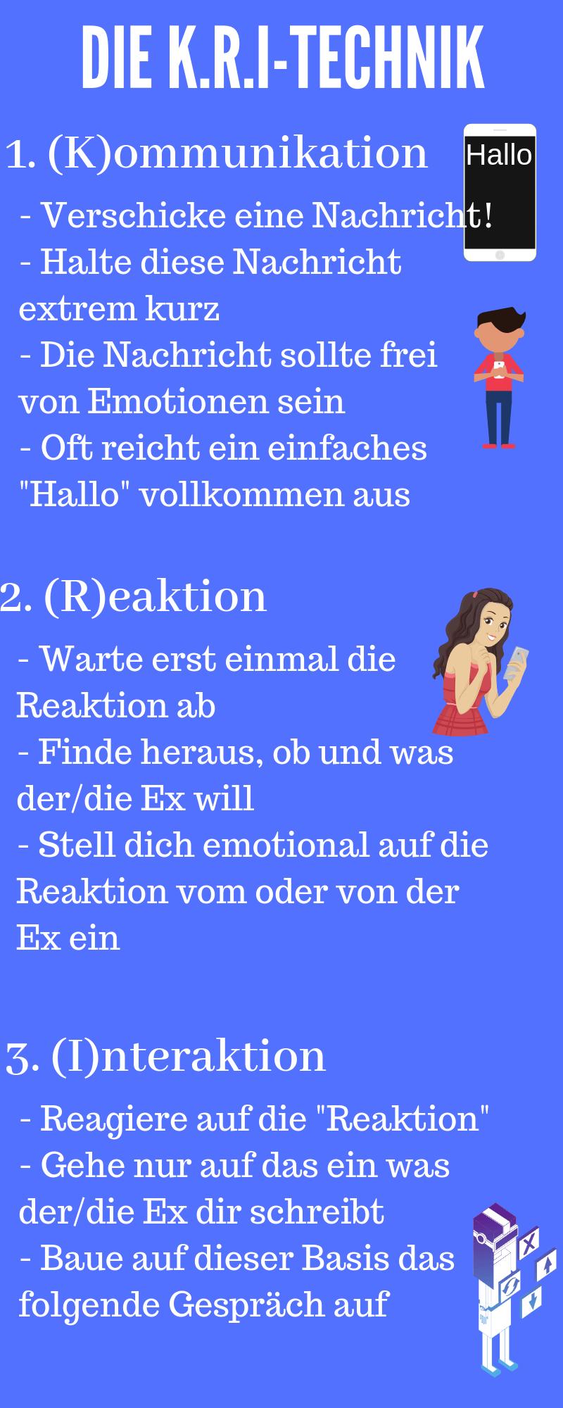 flirten ex zurück)