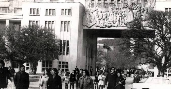 La Universidad de Concepción a fines de los 60.